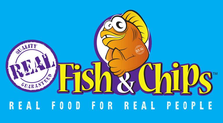 Logo Real Fish and Chips